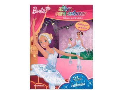 barbie-una-bailarina-libro-para-colorear--2-9789583050565