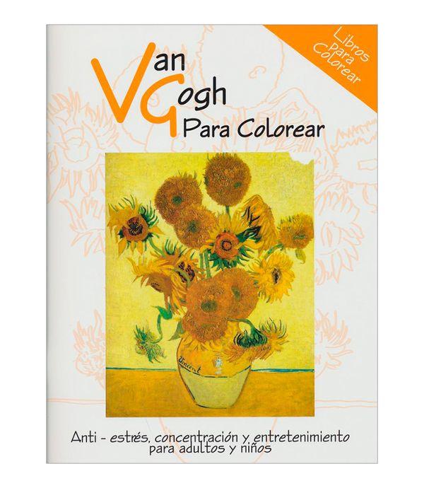 Van Gogh Para Colorear Panamericana New