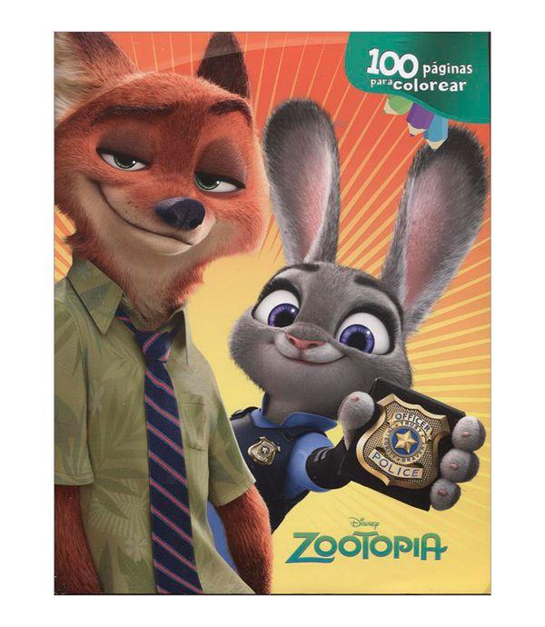 Zootopia 100 Páginas Para Colorear Panamericana New