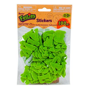 figuras-adhesivas-de-letras-verdes-en-fieltro-darice-100-piezas--82676082948