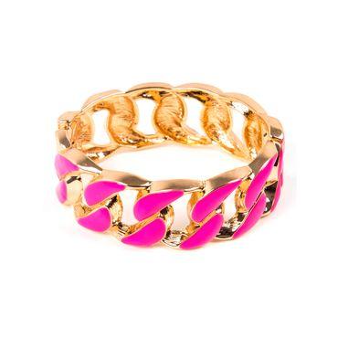 pulsera-gruesa-trenzada-color-dorado-con-fucsia-7701016023474