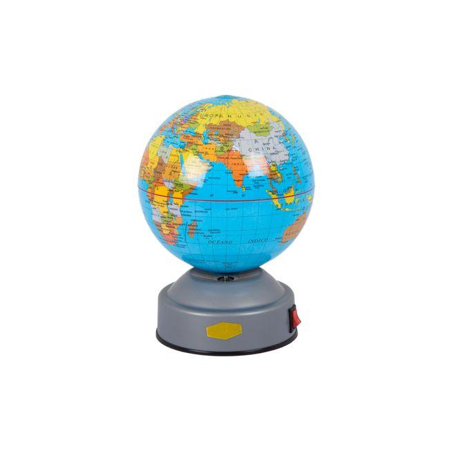 Globo terraqueo flotante led world globe tabletop globes - Globo terraqueo decoracion ...