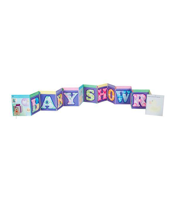 Guirnalda Para Baby Shower Panamericana New