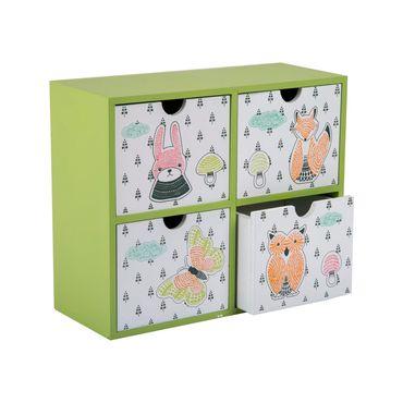 organizador-con-4-cajones-en-mdf-color-verde-7701016084215