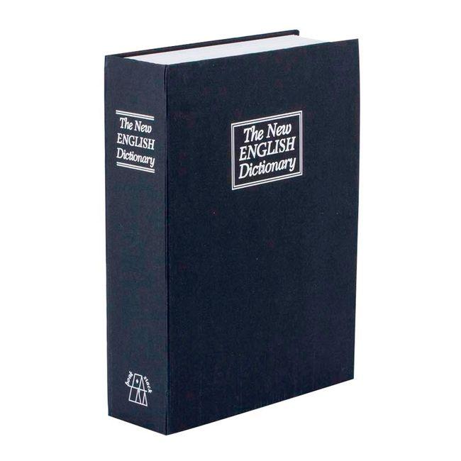 Caja menor tipo libro color negro - Panamericana