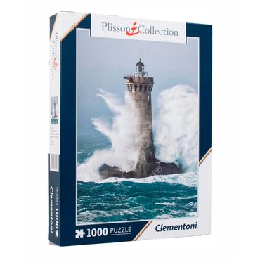 rompecabezas-x-1-000-piezas-clementoni-plisson-four-lighthouse-8005125393527
