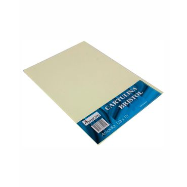 cartulina-bristol-amarilla-10-uds--7704147600019