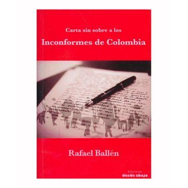 carta-sin-sobre-a-los-incorformes-de-colombia-9789588926285