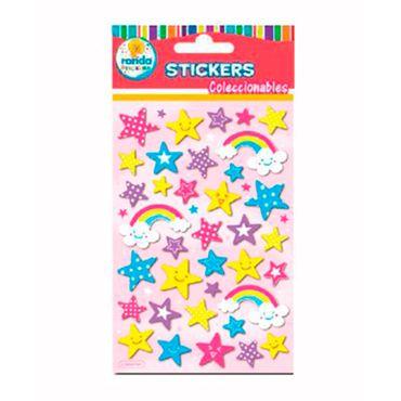 stickers-coleccionables-de-estrellas-ronda-673110273