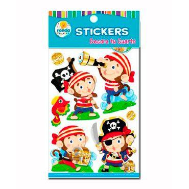 stickers-decorativos-de-micos-y-piratas-ronda-673110457