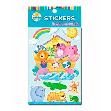 stickers-decorativos-del-arca-de-noe-ronda-673110471