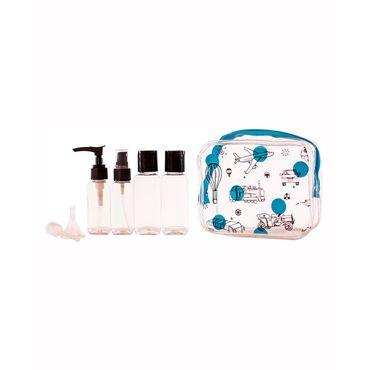 kit-de-recipientes-para-viaje-8-piezas-nino-azul-tapa-negra-7701016127745