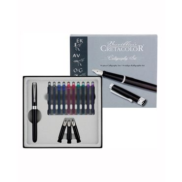 set-de-caligrafia-de-lujo-cretacolor-x-14-piezas-9014400216870