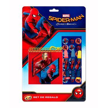 set-de-escritura-5-piezas-spiderman-7515500037805
