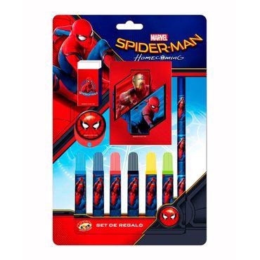 set-de-escritura-10-piezas-spiderman-7515500036266