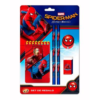 set-de-escritura-6-piezas-spiderman-7515500036235