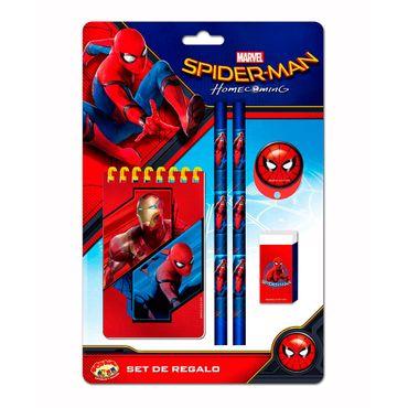 set-de-escritura-6-piezas-spiderman-7515500036235