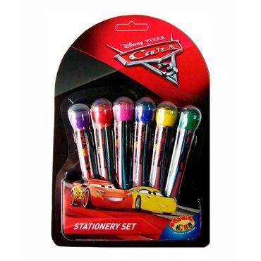 set-de-plumones-con-sello-6-piezas-cars-3-7515300036343