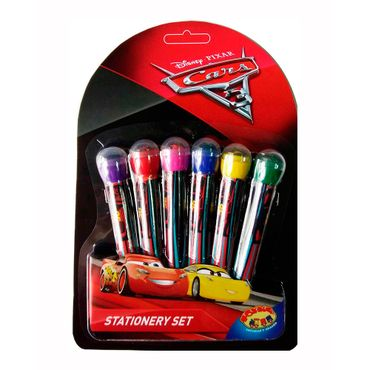 set-de-plumones-con-sello-6-piezas-cars-3-7515300036343