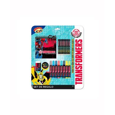set-escritura-transformers-x-20piezas-7515700038923