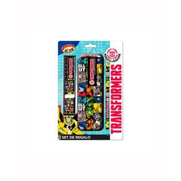 set-escritura-transformers-x5piezas-7515700083039