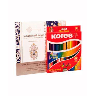 color-doble-punta-kores-x-24-libro-camara-del-tiempo-9023800032249