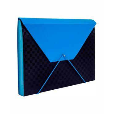 archivador-fuelle-a4-13-bolsillos-negro-morado-6932717101074