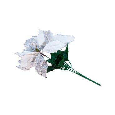 rama-de-34-cm-con-poinsettia-blanca-con-plateado-7701016151023