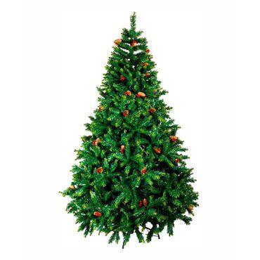 arbol-navideno-convencional-de-210-cm-color-verde-con-pinas-y-cerezas-7701016146890