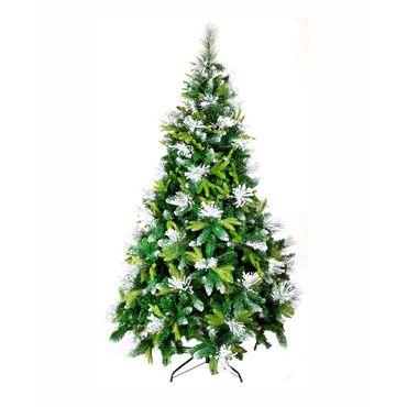 arbol-navideno-convencional-de-210-cm-puntas-verdes-con-blanco-7701016146920