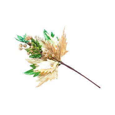 rama-de-40-cm-con-poinsettia-color-dorado-7701016150002