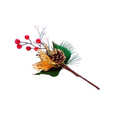 rama-de-26-cm-con-poinsettia-dorada-y-frutos-7701016150040