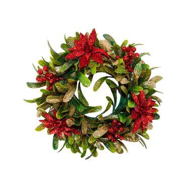 corona-de-23-cm-con-poinsettias-rojas-y-hojas-verdes-escarchadas-1-7701016151672
