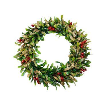 corona-de-38-cm-con-hojas-verdes-escarchadas-y-frutos-rojos-1-7701016151696