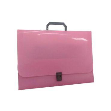 portafolio-1-8-rosado-plastico-con-manija-7707349911600
