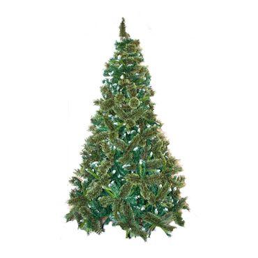 arbol-navideno-convencional-de-210-cm-y-1-248-puntas-verdes-con-blanco-7701016146142