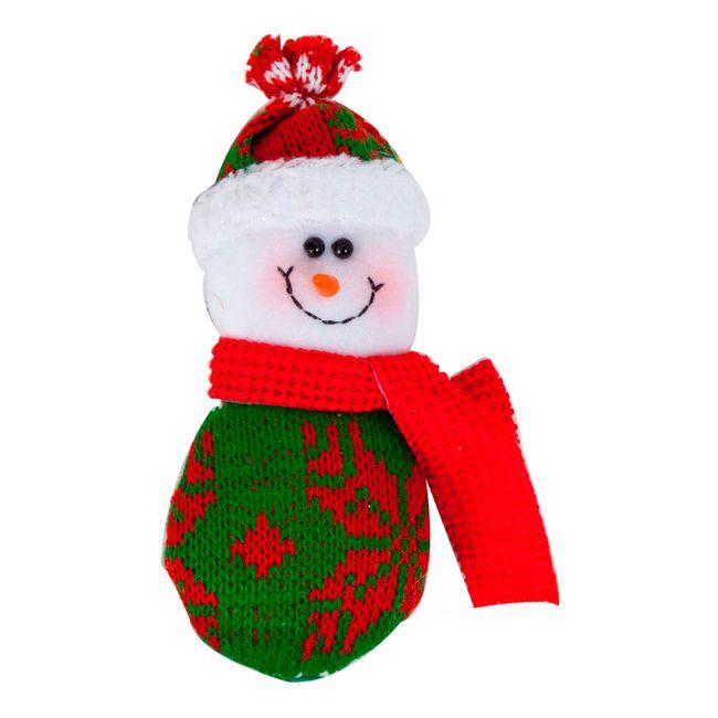 Mu eco de hombre de nieve para rbol de navidad panamericana - Arbol navidad nieve ...