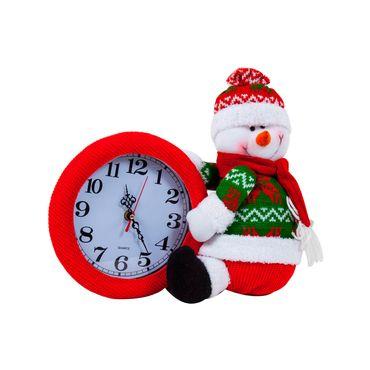 reloj-navideno-de-mesa-con-figura-de-hombre-de-nieve-31-cm-7450008599120