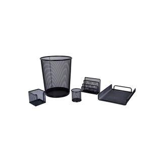 kit-de-oficina-negro-malla-5-piezas-7701016759434