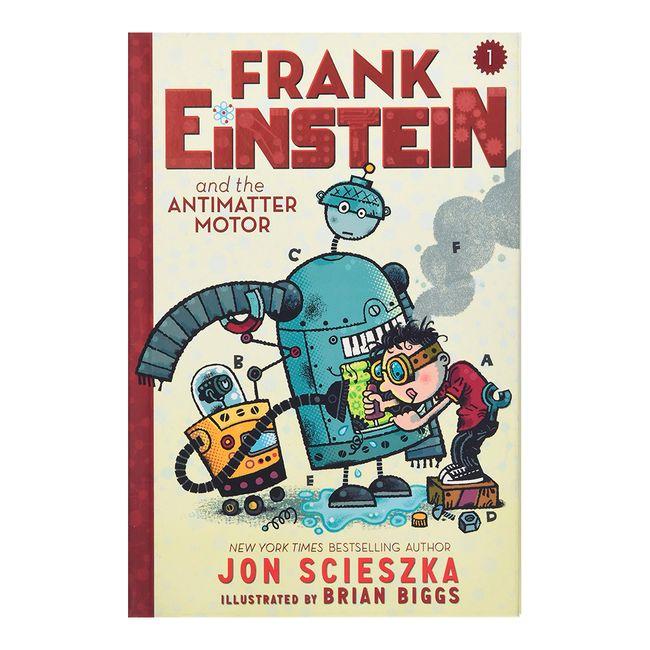 Frank einstein and the antimatter motor hardcover for Frank einstein and the antimatter motor