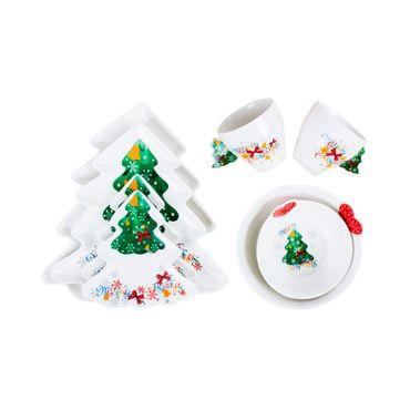 set-8-piezas-arbol-de-navidad-bandejas-platos-bowl-pocillos--7701016173858