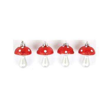 set-de-4-hongos-7cm-plata-con-rojo-para-arbol-7701016185394