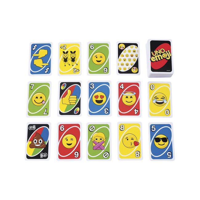 Juego De Cartas Uno Emoji Panamericana