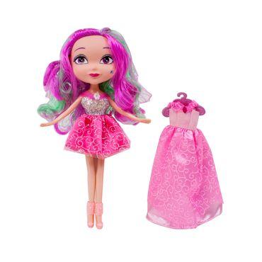 muneca-magik-petz-25cm-con-2-vestidos-rosados-8714627170290