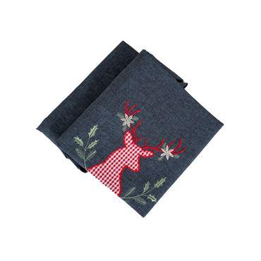 mantel-navideno-redondo-gris-de-180-cm-decorado-de-reno-escoces-7701016182430