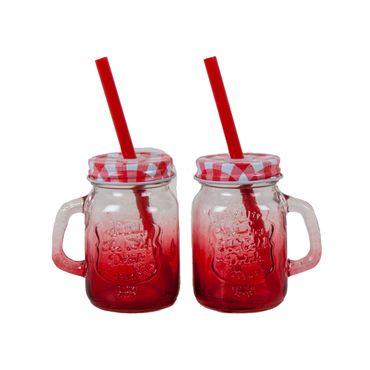set-de-2-vaso-pitillo-en-vidrio-color-rojo-de-120-ml-7701016170109