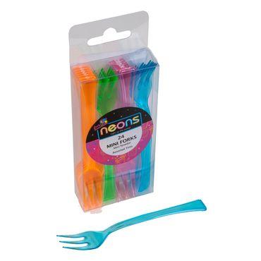 tenedor-mini-x24-piezas-neon-nrj-vrd-rsd-azl-plastico-763615685580