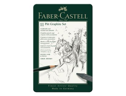 set-grafito-11-piezas-faber-castell-4005401129721