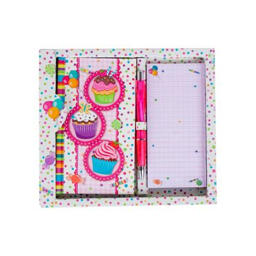 set-libreta-cuaderno-mini-boligrafo-cupcakes-7701016174152