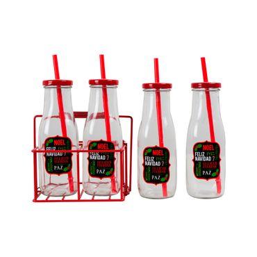 set-de-botellas-con-pitillo-y-base-x-4-uds-decoracion-feliz-navidad-7450009038994